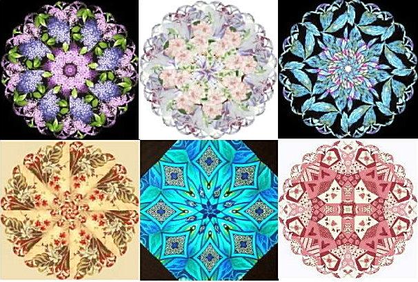 the ultimate kaleidoscope template set scalloped edge ebay